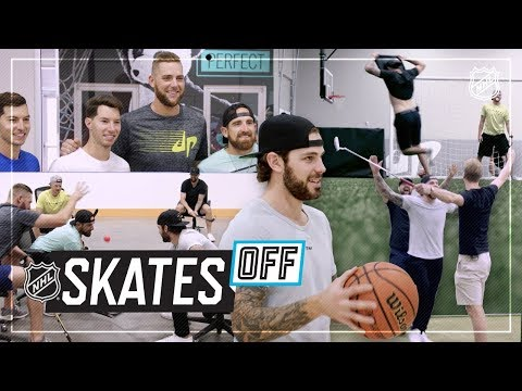 Stars visit Dude Perfect for team bonding
