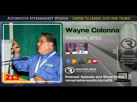 RR 213: Wayne Colonna from ATSG
