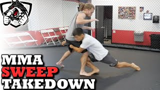 Gambar cover Effective MMA Takedown Sweep: Double-Leg Variation