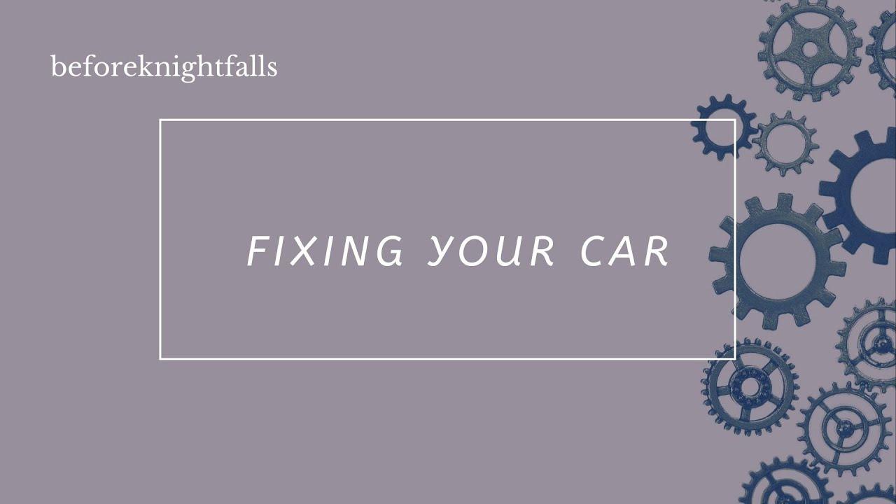 ASMR Boyfriend: Fixing Your Car
