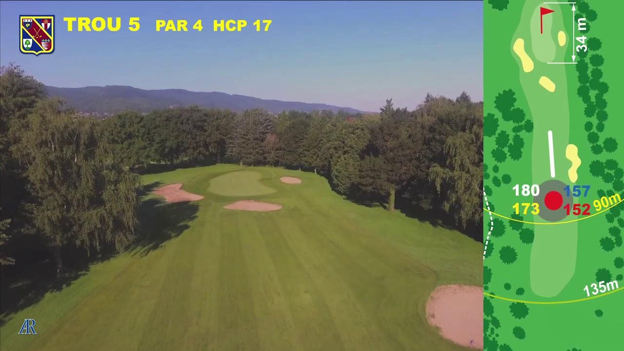 Vidéo du trou numéro 5 | Golf La Barouge Mazamet