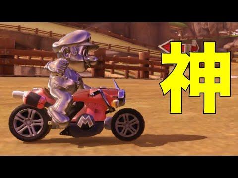 神プレー1発 マリオカート8