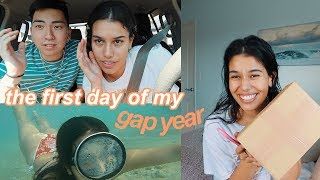 The First Day of My Gap Year