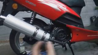 Замена масла на скутере 150 кубиков (Viper  storm 150, Lifan 150-T8, Irbis Nirvana)