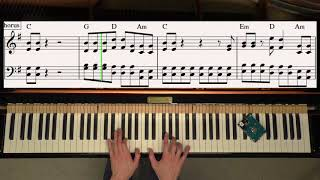 Download Lagu The Middle - Zedd, Maren Morris, Grey - Piano Cover Video by YourPianoCover Mp3