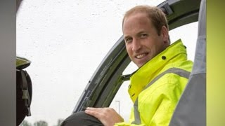 Prince William Rescues Oblivious Man