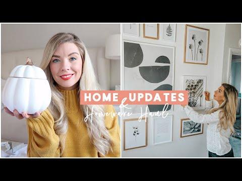 HOUSE UPDATE & HOMEWARE HAUL | KATE MURNANE
