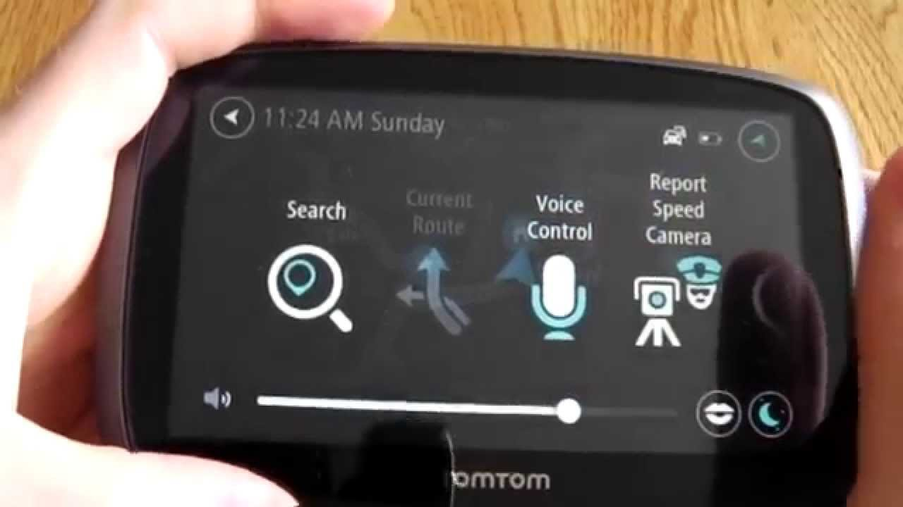 TomTom Voice Control Demo - Speak commands to TomTom!
