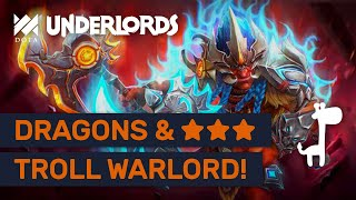 ★★★ TROLL WARLORD!! Dota Underlords STRONGEST GLOBAL ITEM COMBO FOUND!