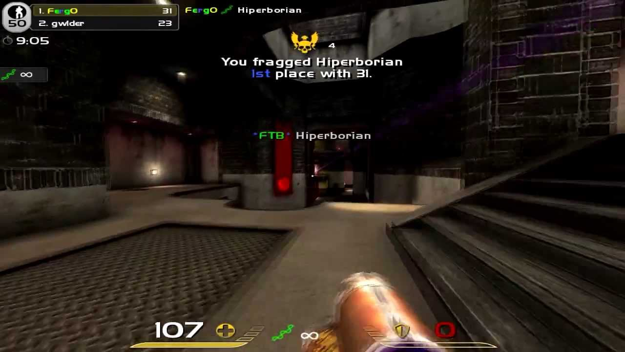 Quake Live Gameplay