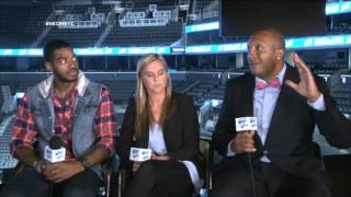 "NEC ""Social"" Media Day - Alumni Roundtable (Gary Wallace, Courtney Schissler, Frantz Pierre-Louis)"