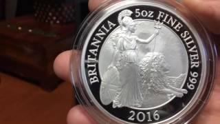 Return of the 5 oz Silver Britannia. Royal Mint Comes Through