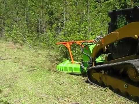 Cat W Ss Eco Mulching Attachment Youtube