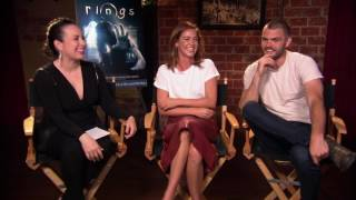 """rings"" matilda lutz & alex roe interview with variety lifestyle's brandi garcia"