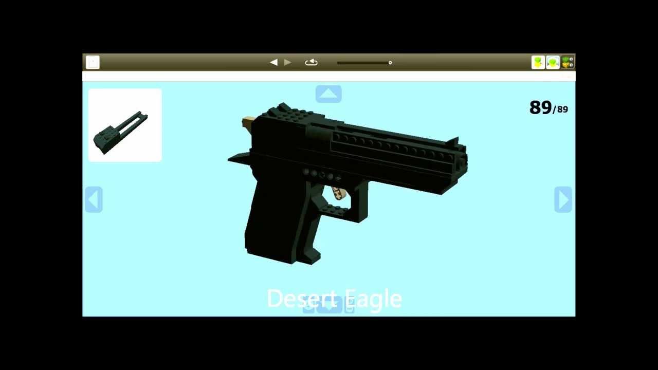 lego digital designer templates - all my ldd guns youtube