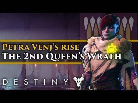 Destiny 2 Forsaken Lore - Petra Venj's Ascension to Queen's Wrath! Lore from the Dreaming City! thumbnail