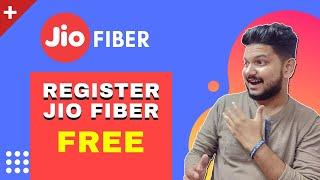 How to Register For Jio GigaFiber | Jio Fiber Launch & its Plans 🔥🔥🔥