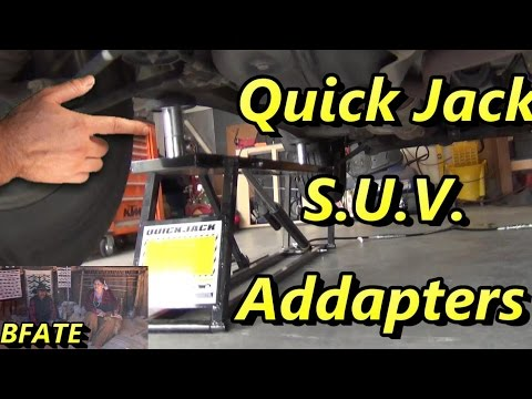 Quick Jack Adapter Kit Review