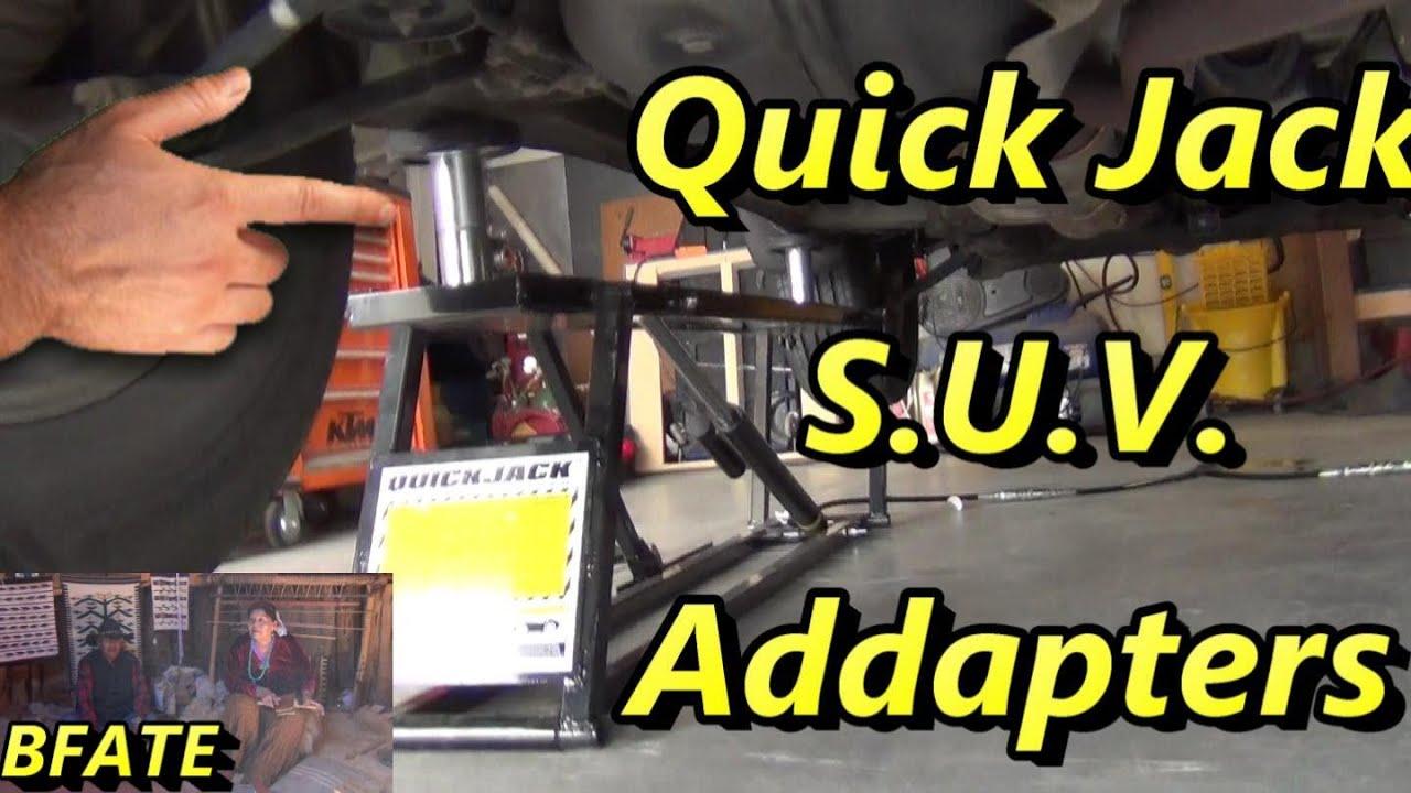 quick jack adapter kit review youtube. Black Bedroom Furniture Sets. Home Design Ideas