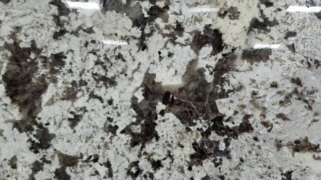 White Delicatus Juparana Granite At Colonial Marble Youtube