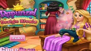 NEW Игры для детей—Disney Принцесса рапунцель дизайн—мультик для девочек