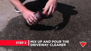 How to remove stains from your driveway