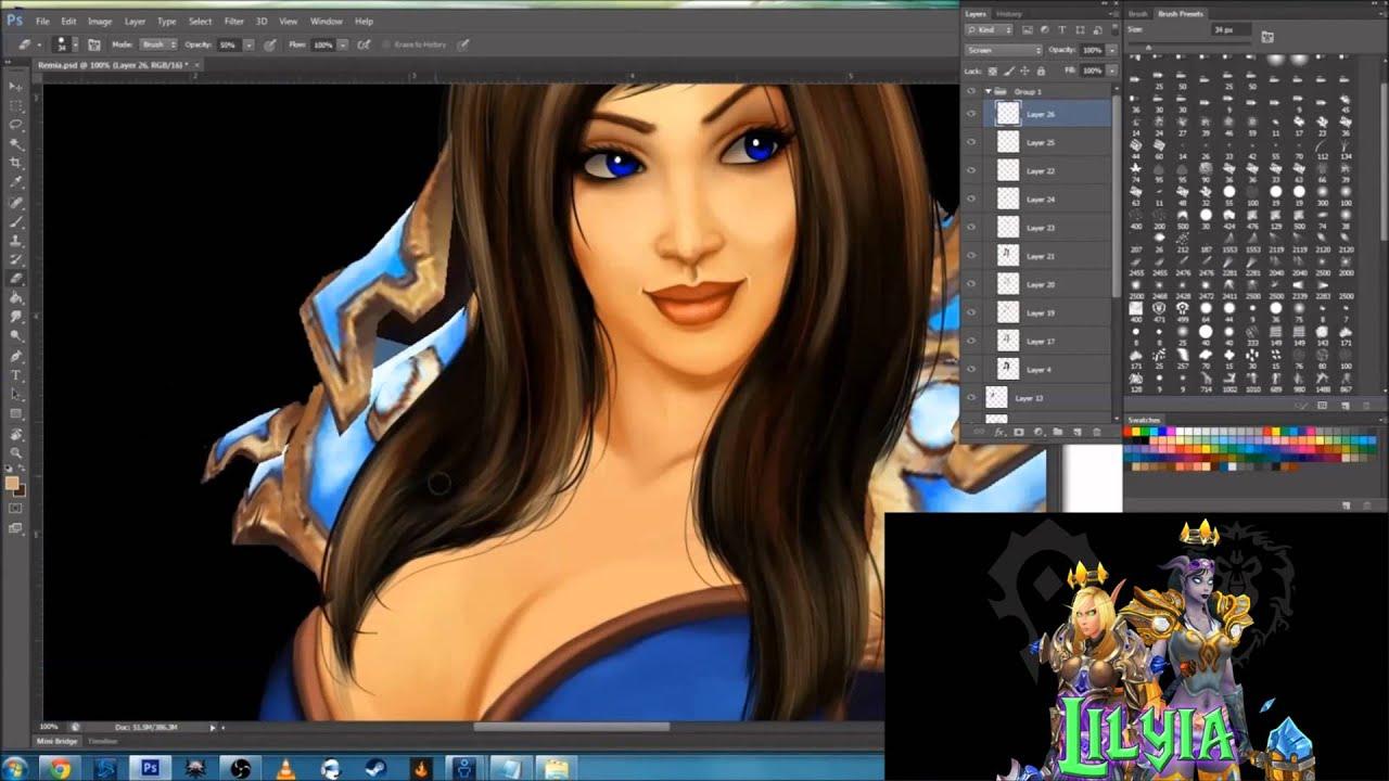 WoW Model Edit: Remia