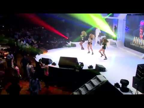 This is Kiss Daniel performing at AY Live