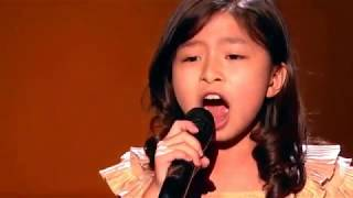 Celine Tam: Adorable 9-Year-Old Earns Golden Buzzer From Laverne Cox - America's Got Talent 2017