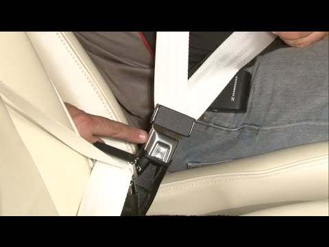 Mustang Retractable 3-Point Seat Belt 1965-1973 Installation