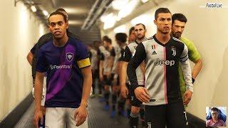 Juventus vs World Classics   Full Match & Amazing Goals   eFootball PES 2020 Graphic for PES 2019
