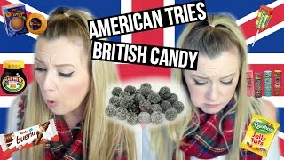 AMERICAN TRIES BRITISH CANDY!