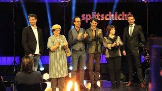 Spätschicht vom 22.12.2017 mit Florian, Alice, Jens, Christoph, Knacki und Anka