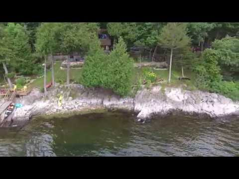 Thompson's Point, Charlotte, VT on Lake Champlain – Phantom 3