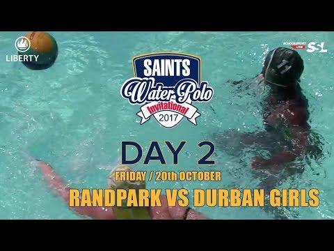 Randpark vs Durban Girls: Saints Waterpolo Invitational 20 October 2017 - Day 2