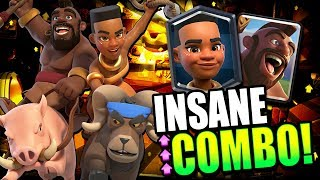 Clash Royale - New Double Rider Deck for Trophy Pushing on Ladder i...