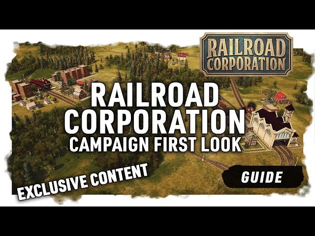 CAMPAIGN FIRST LOOK | Exclusive - Railroad Corporation