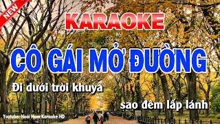 Karaoke Cô Gái Mở Đường Tone Nam