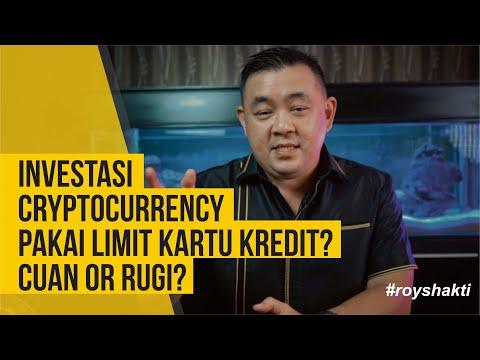 INVESTASI CRYPTOCURRENCY PAKAI LIMIT KARTU KREDIT? CUAN OR RUGI? #royshakti