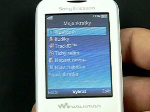 Sony Ericsson Spiro - prostředí
