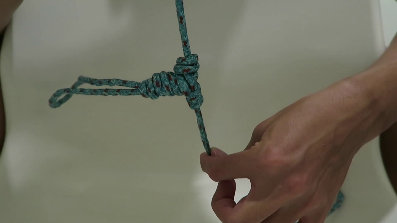 Fishing Knots How To Tie A T Joint Knot Youtube