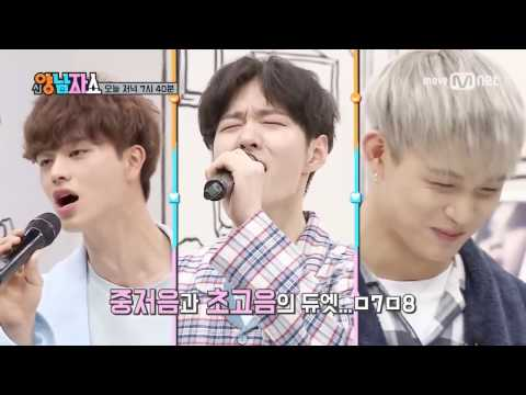 [ENG SUB]New Yang Nam Show Ep 3 BTOB Singing with Mic Pitch Change!
