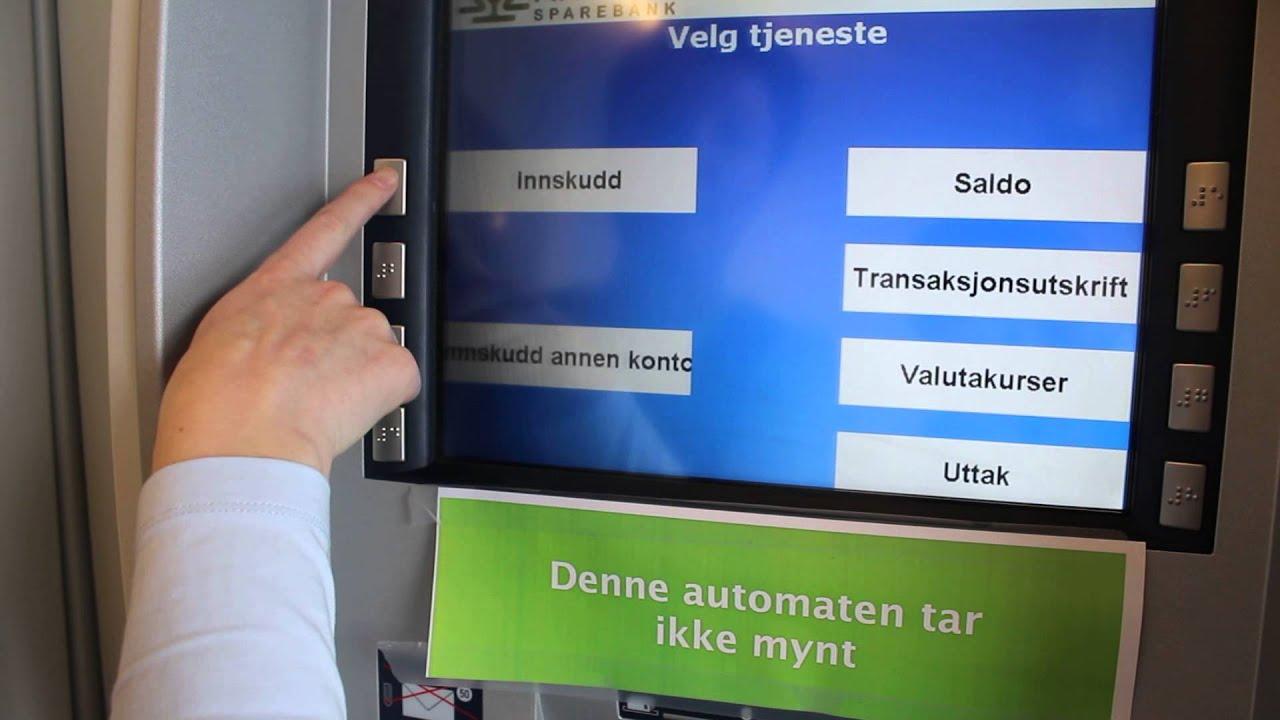 Innskuddsautomat sparebank 1 oslo