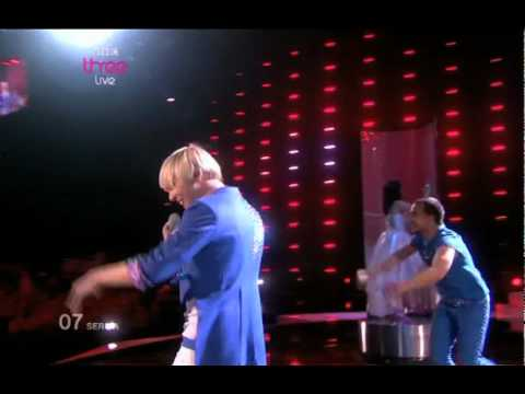 Serbia - Eurovision Song Contest 2010 Semi Final  1- BBC Three