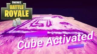 Fortnite BR: Cube Turned On at 4:01pm CT (SECRET SYMBOL)