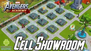 MARVEL: Avengers Academy - Cell Showroom