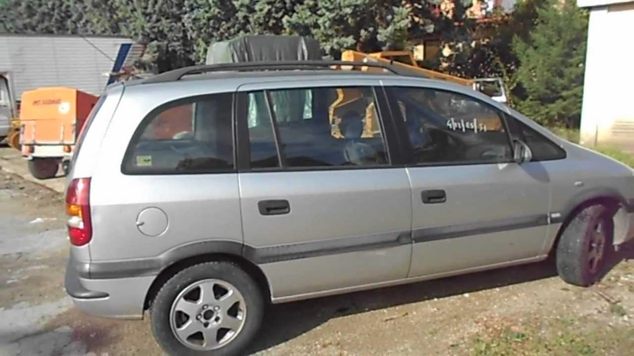Asta Opel Zafira Youtube