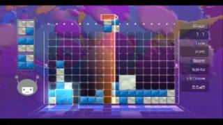 Lumines Supernova 10-skin run 1/3