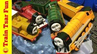 Thomas & Friends Trains MASTER OF THE TRACKS #2 Murdoch, Stepney, Emily, Arthur