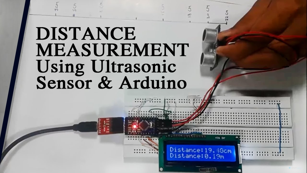 Distance Measurement Using Ultrasonic Sensor And Arduino Youtube Circuit Digest